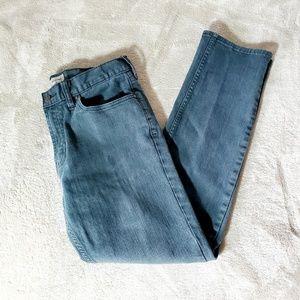 Bullhead Stretch Skinny Jeans Black Grey Wash Fall